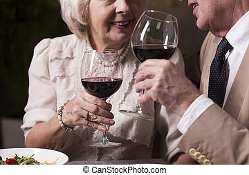 To our perfect marriage - Cropped picture of an elderly...