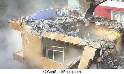 Building under deconstruction