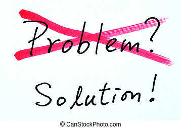 Problem and Solution - Concept of crossing out problem and...