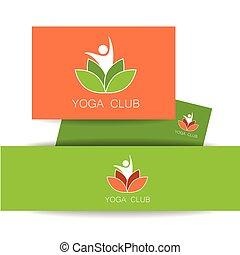 yoga lotos logo template - Yoga logo Vector design template...