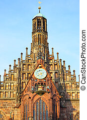 Frauenkirche in Nuremberg - Church of Our Lady...