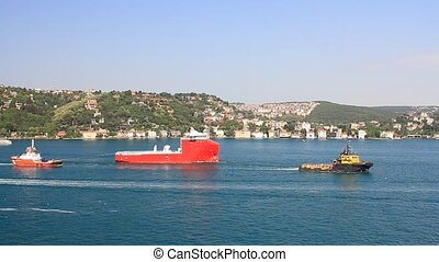 Offshore platform supply vessel ship built in Romania and...