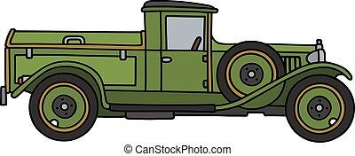 vindima, verde, dustcart,