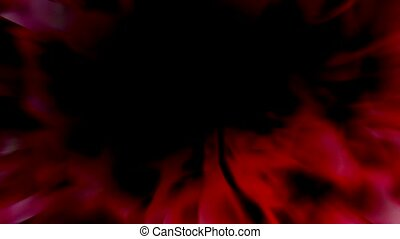 abstract red blur light and ball
