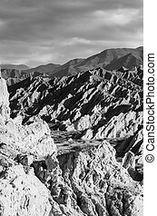 Argentinian Andes - Extreme rock formations in the...