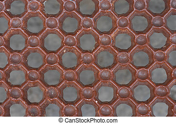 red brown steel background