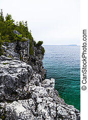 Scenic Views at the Grotto on Georgian Bay Ontario Canada...