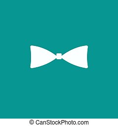 Bow tie, icon vector.