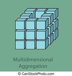 Multidimensional aggregation