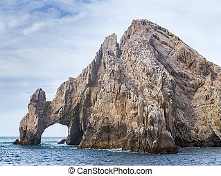 The Rock Formation of Lands End, Baja California Sur,...