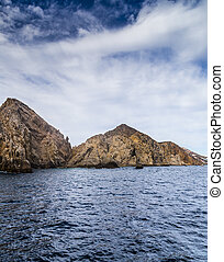 The Rock Formation of Land's End, Baja California Sur,...