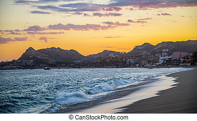 Sunset View in Cabo San Lucas Mexico