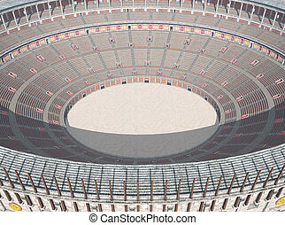 Colosseum in ancient Rome - Computer generated 3D...