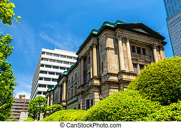 The central bank of Japan headquarters in Tokyo - Head...