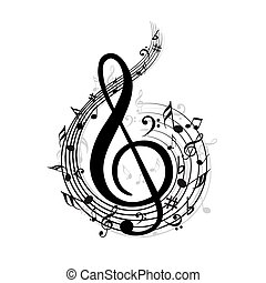 Music Note - Notes and lines
