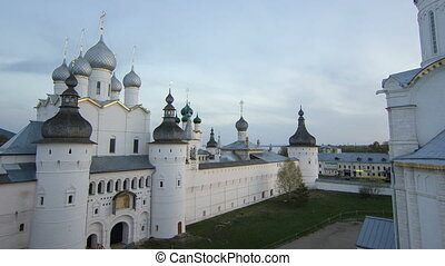 Tip view of the assumption Cathedral of the Kremlin of...