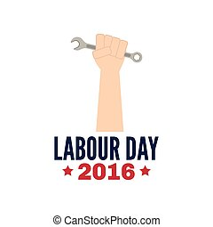 Labour Day background - abstract Labor day background with...