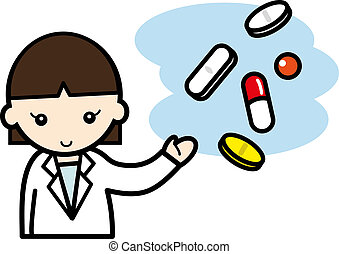 pharmacist - a pharmacist explain about the drugs