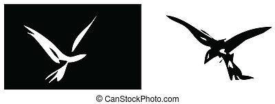 Ying and Yang Birds