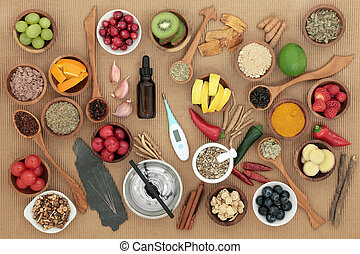 Alternative Medicine and Food for Cold Remedy