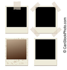 film background - photo frames set