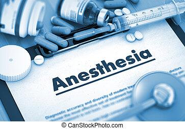 Anesthesia Medical Concept - Anesthesia, Medical Concept...
