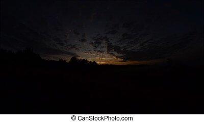 sunrise over river - sunrise on the lake, sunrise over river