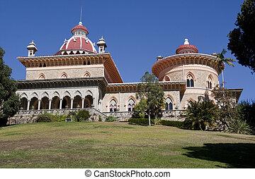 Monserrate Palace - View of the beautiful Monserrate Palace...