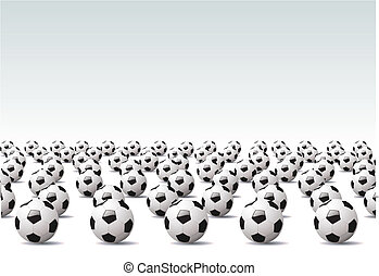 Soccer - Vector illustration %u2013 sport background, Soccer...