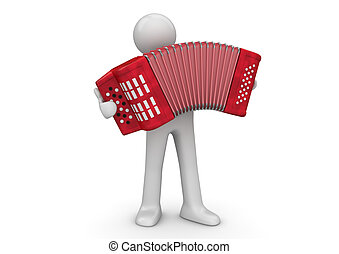 Music collection - Accordion player