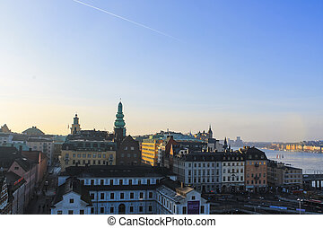 View in a Northern European City