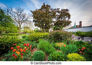 The Allan Gardens, in the Garden District, Toronto, Ontario.