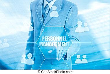 Human resources, CRM. Concept personnel management. - Human...