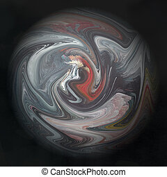 Colour abstract art background spiral