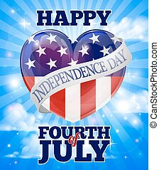 Happy Independence Day Fourth of July - A happy Fourth of...
