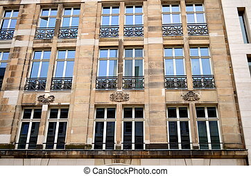 neoclassicism facade in berlin - Facade in Berlin, capital...