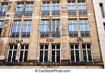 neoclassicism facade in berlin - Facade in Berlin, capital...