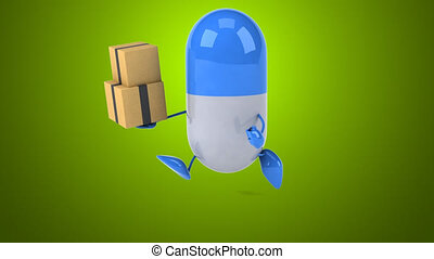 Pill - Computer animation