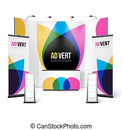 Exhibition Stand Color Design Exhibition Stand Template...