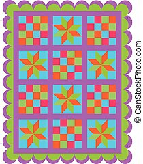 patchwork seamless pattern - seamless background in...