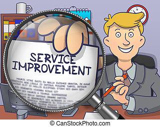 Service Improvement through Lens Doodle Style - Service...