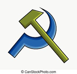 Communist Icon Vector Illustration