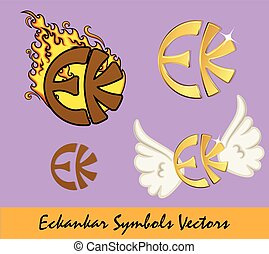 Eckankar Symbols Vector Set Designs