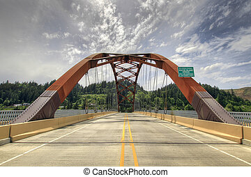 Sauvie Island Bridge 2 - In the Middle of Sauvie Island...