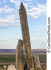 Teter Rock, Flint Hills, Kansas - Teter Rock landmark, Flint...
