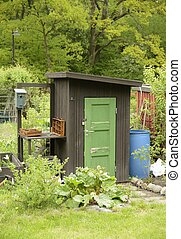 Sheds on the Allotment - Organic Gardening on the Allotment...