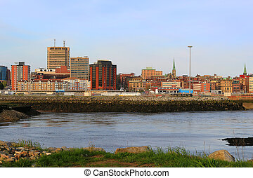 Saint John, New Brunswick, Canada - View of Saint John, New...