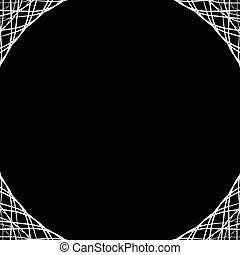 Abstract geometric background, pattern with space in center....