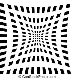 Abstract grid, mesh backgrounds with different distortions