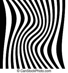 Asymmetric vertical lines with different distortions. Irregular monochrome lines.